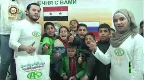 Кадыров передал через свой фонд помощь пяти тысячам сирийских семей