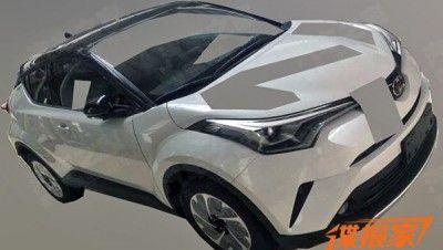 В сеть утелки шпионские фото нового Toyota IZOA