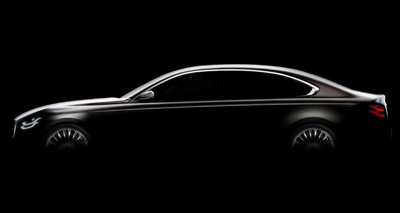 Второе поколение Kia Quoris будет представлено вапреле