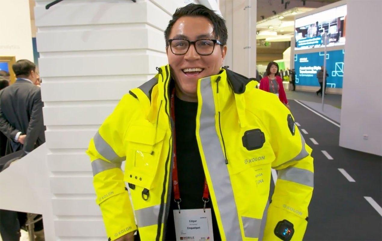 Nokia выпустила красивую и умную куртку для спасателей и полицейских