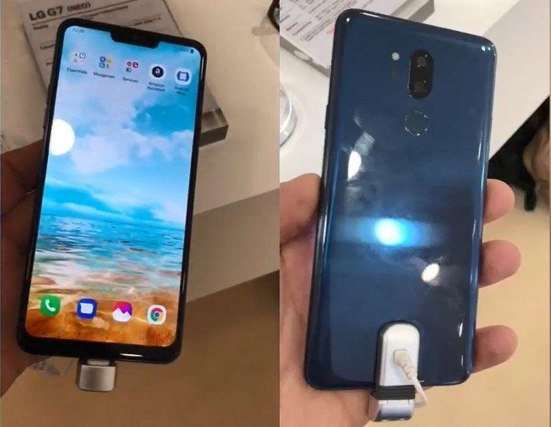 LGпоказала прототип телефона G7