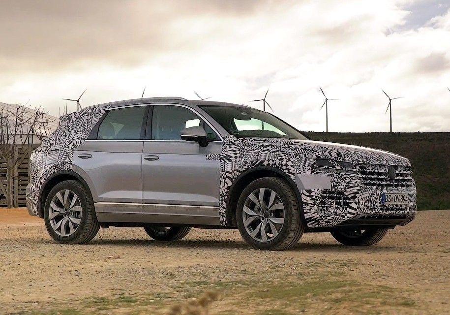 Volkswagen выпустил тизер на обновлённый кроссовер Touareg (видео)