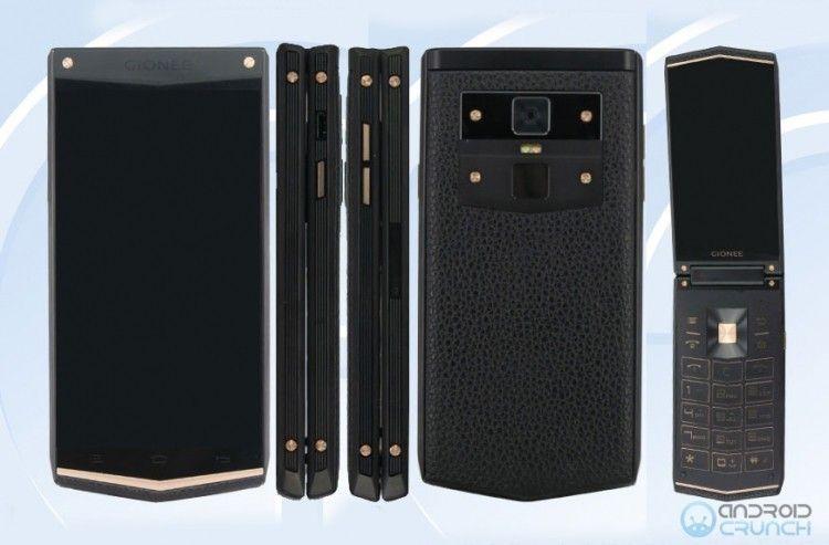 Инсайдеры слили вСеть снимок прототипа телефона-«раскладушки» Gionee W919