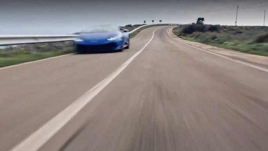 Тизер «заряженного» Lamborghini Huracan Performante появился винтернете