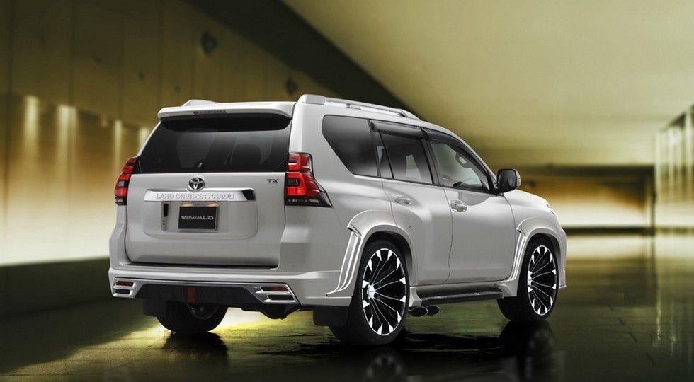 Wald International придал эксклюзивности Тойота Prado иHarrier