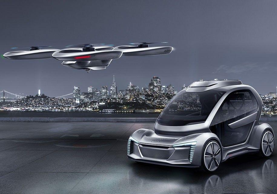 Обновленный концепт летающего такси отAirbus и Audi