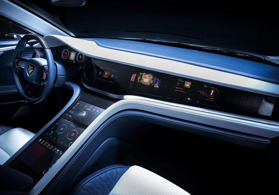 Китайский электрокар LVCHI Venere составит конкуренцию Tesla Model S