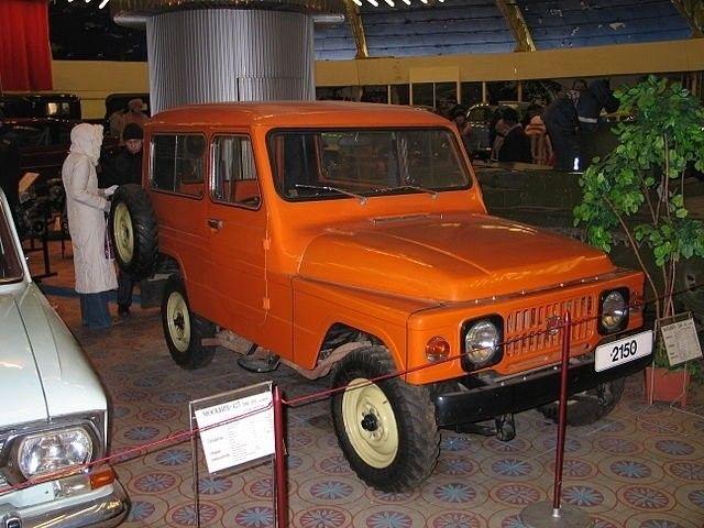Редкостный вседорожный автомобиль «Москвич-415С» представили широкой публике