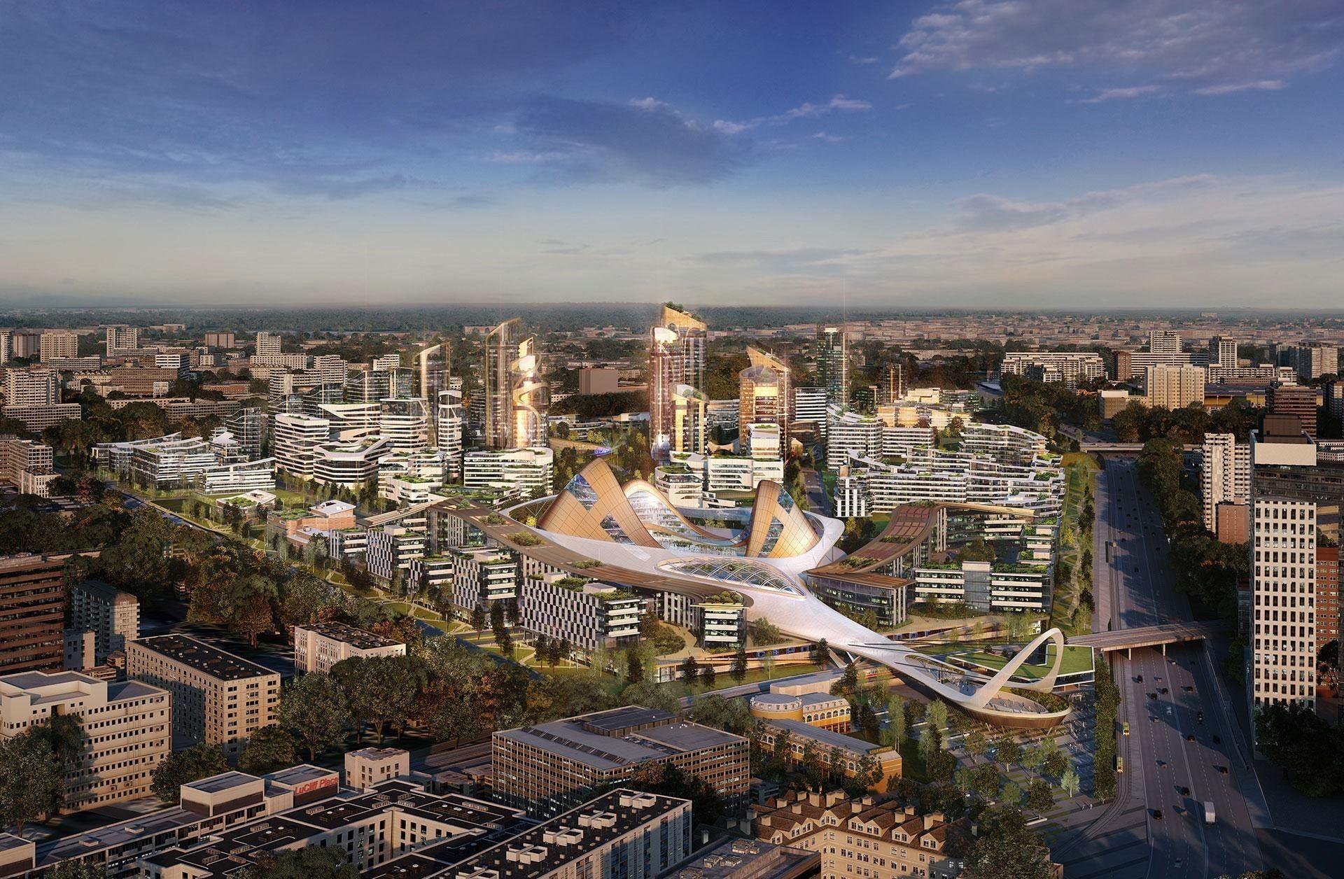В российской столице  началось строительство неповторимого  моста
