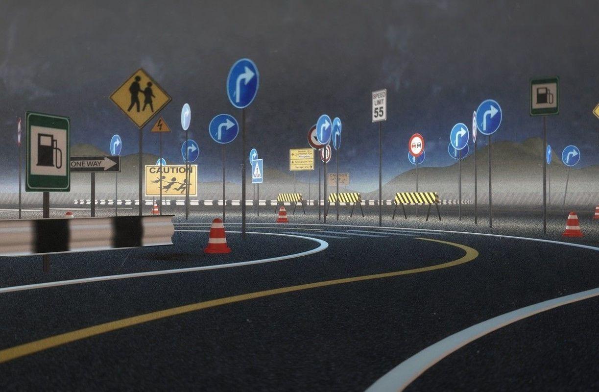 В столицеРФ  появятся новые дорожные знаки