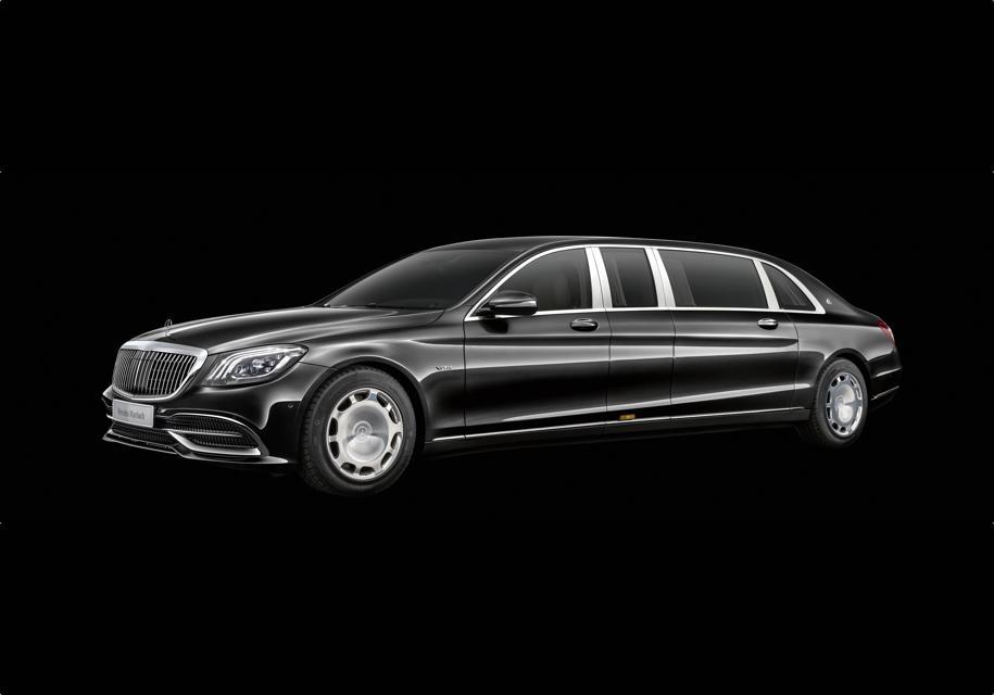 Представлен новый Mercedes-Maybach Pullman