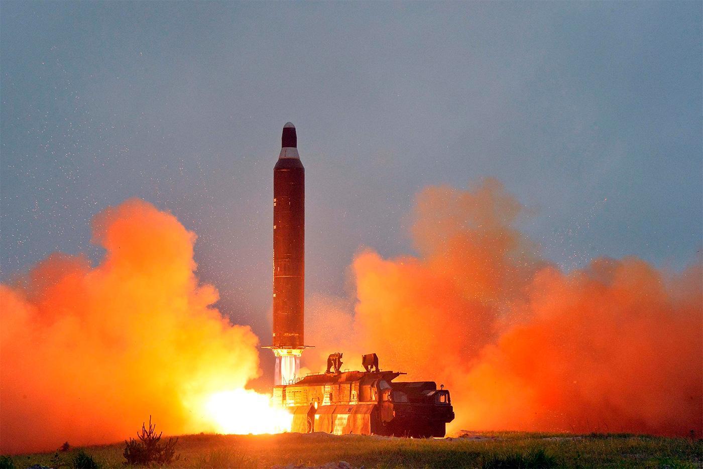 Киев нестал опровергать возможное наличие собственных компонентов вракетах КНДР