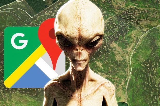 Уфологи: Найдены шокирующие послания пришельцев спомощью Google Maps