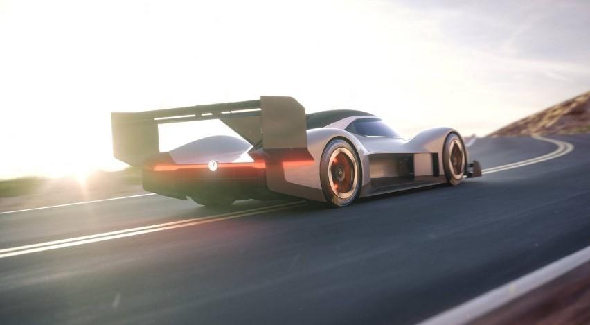 VW представила новый электрический спорткар I.D. R. Pikes Peak