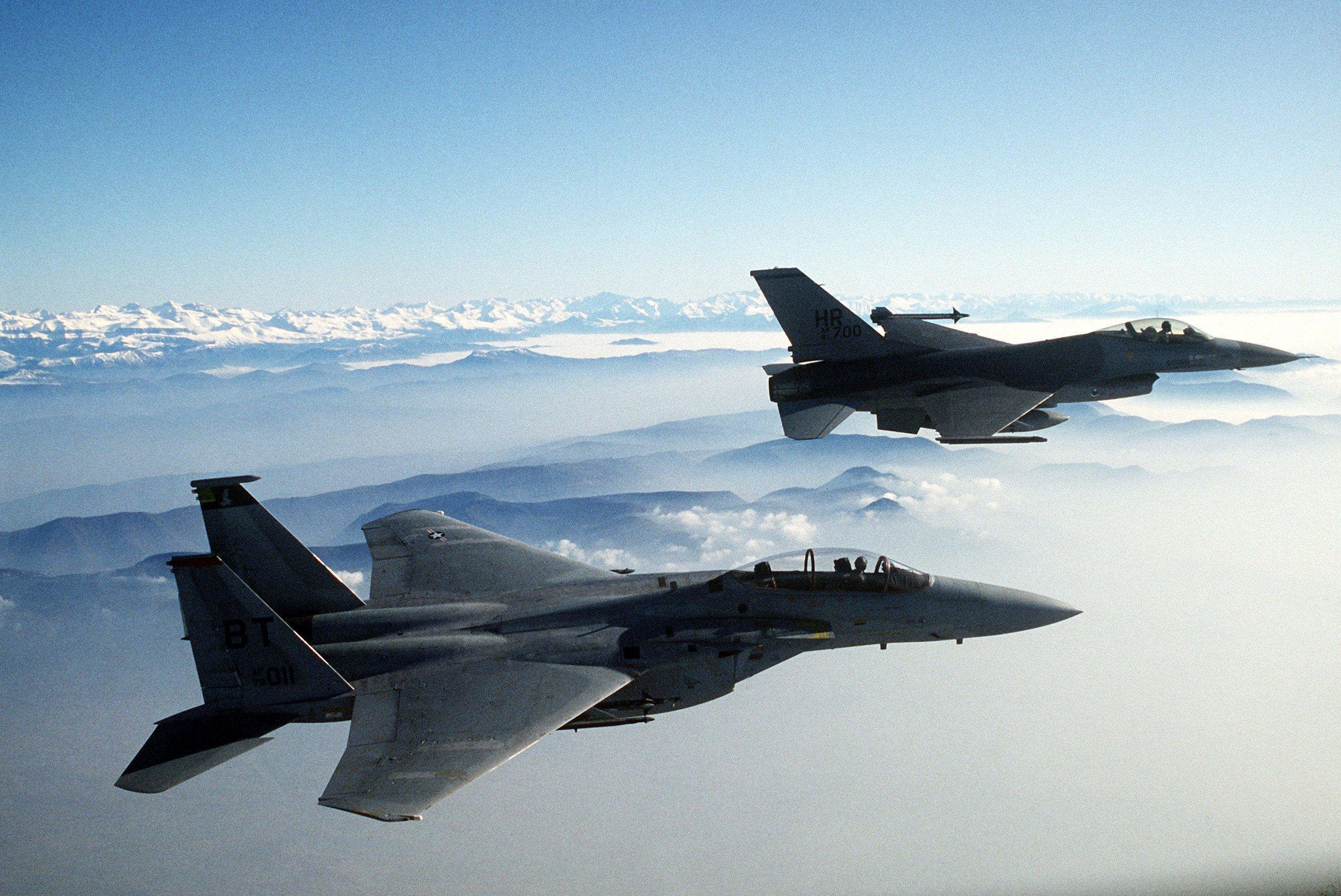 ВВС США испытают боевой лазер наистребителе F-15 Eagle