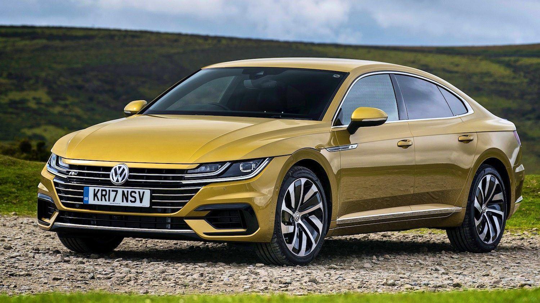 Лифтбек Volkswagen Arteon R-Line явится на публике в конце марта