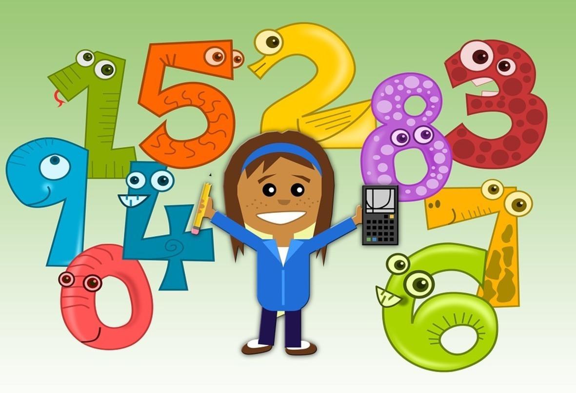 Днем, картинки по математике для детей