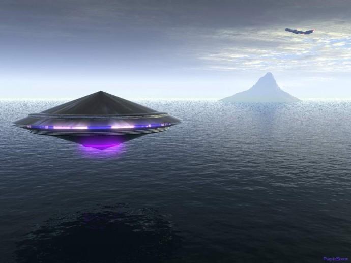Граждане Лондона сняли навидео загадочный НЛО