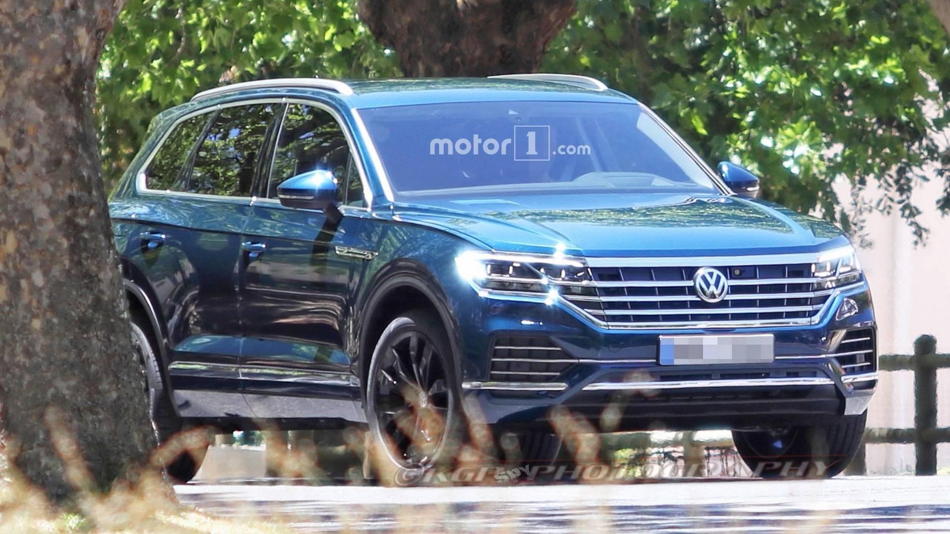 VW официально представил 3-е поколение джипа Touareg