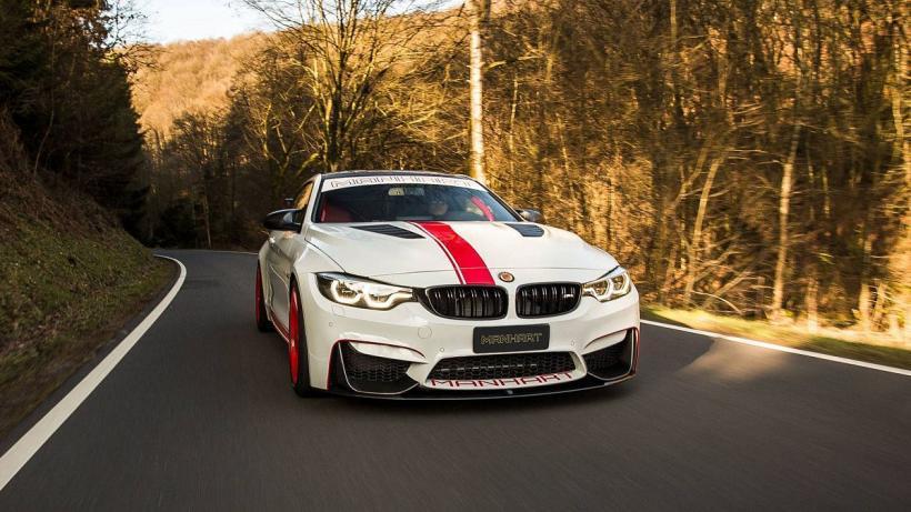 Ребята из Manhart «прокачали» BMW M4 Coupe