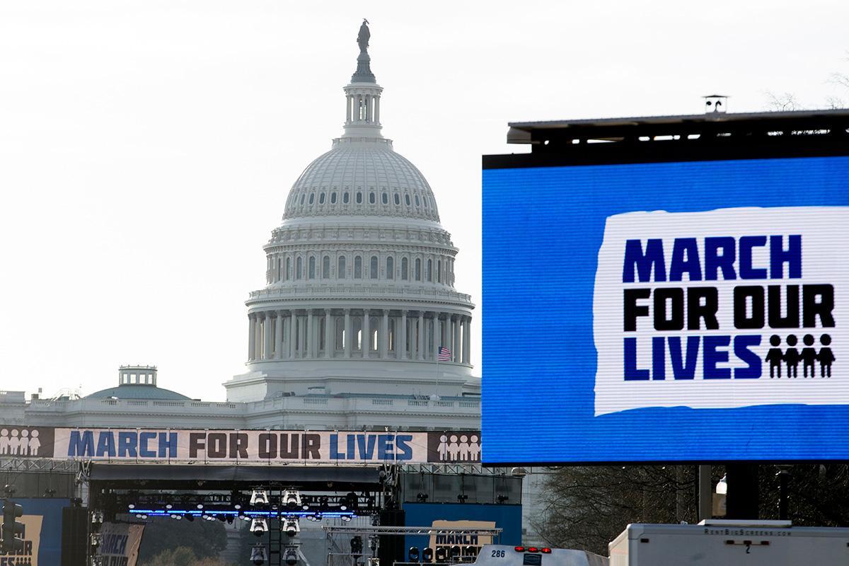 Практически 150 тыс. человек участвуют вмарше против оружия вНью-Йорке