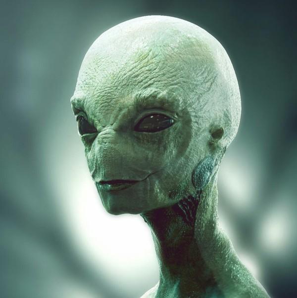 инопланетянина своем доме о рисунок