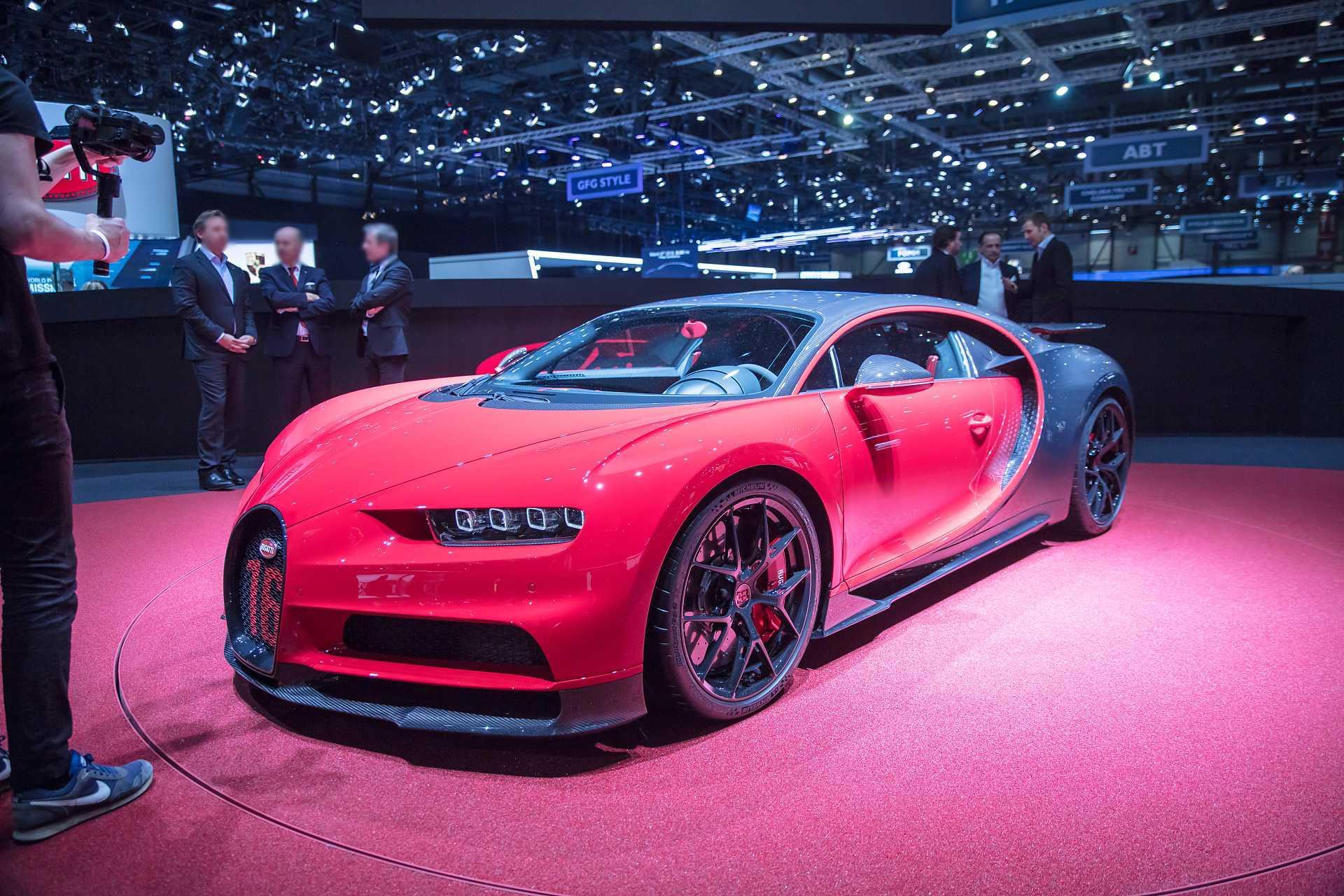«Заряженный» Bugatti Chiron Sport оценили в $3,26 млн