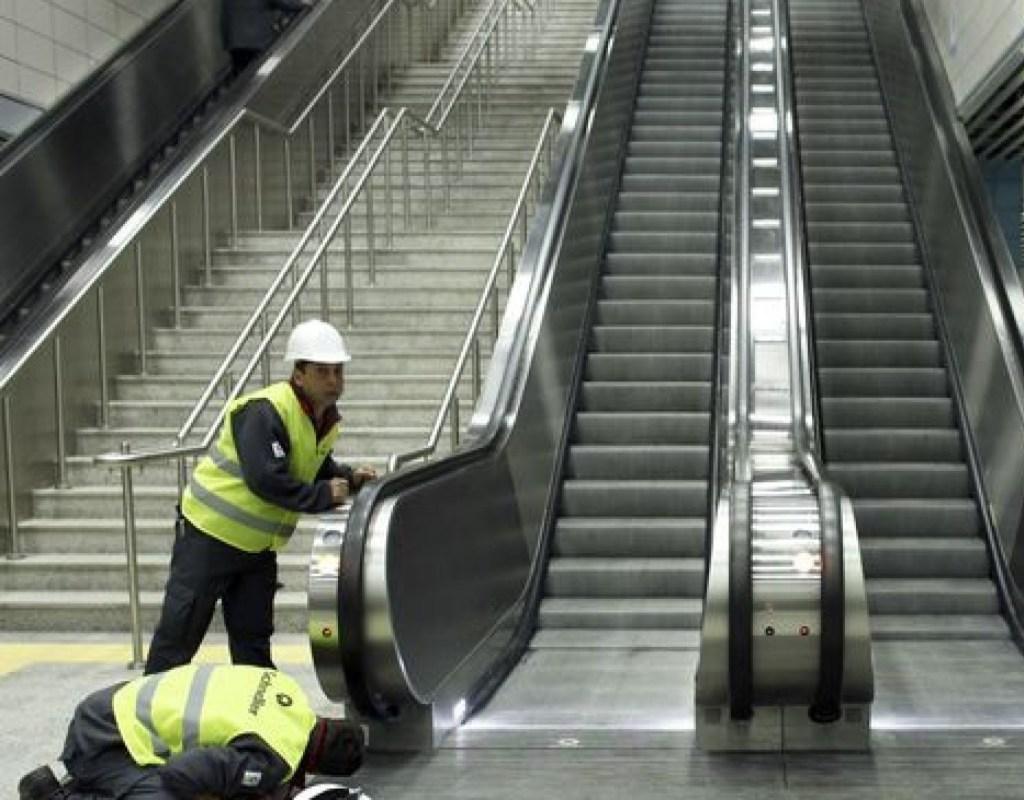 ВСтамбуле сломавшийся эскалатор «зажевал» мужчину