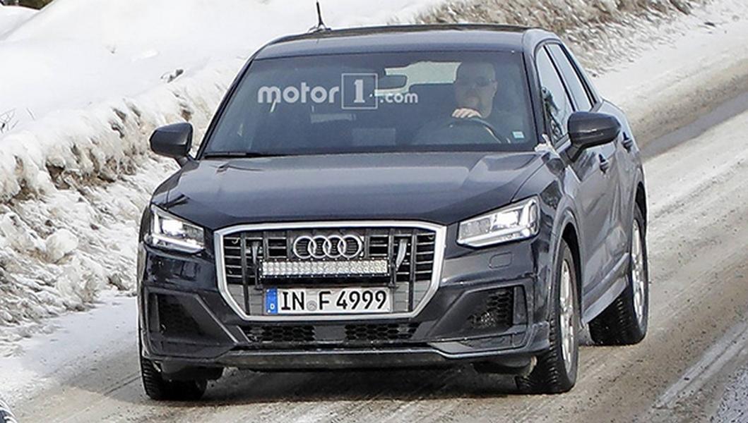Появились снимки Audi SQ2 без камуфляжа