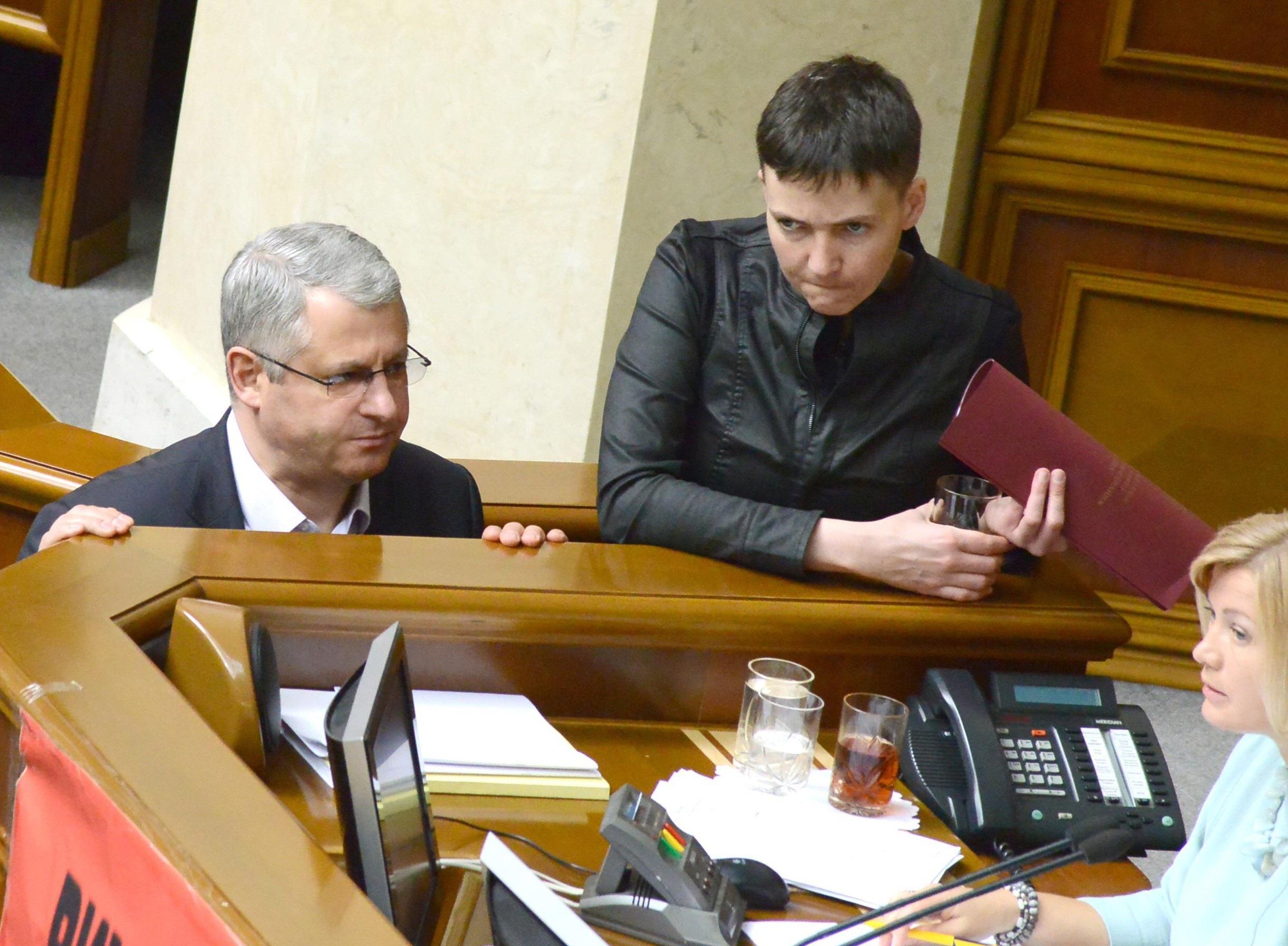 Уголодающей Савченко началась кровавая тошнота