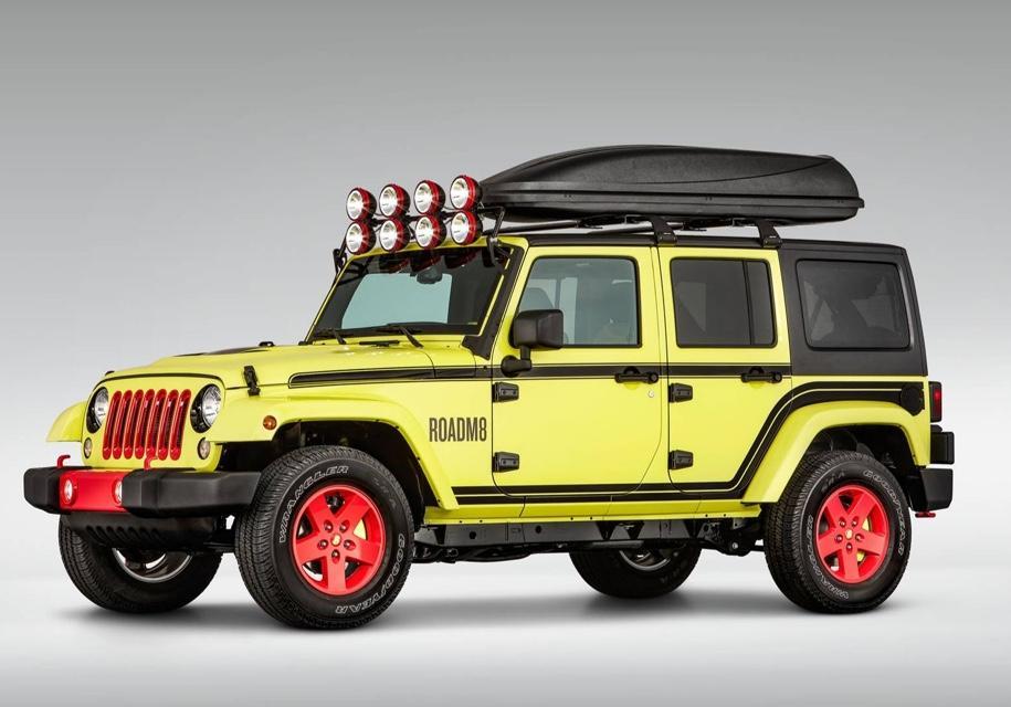 Джип Jeep Wrangler превратили вгостиничный номер