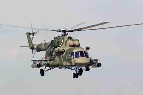 Названы причины крушения вертолета Ми-8 в Чечне