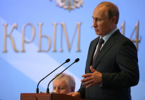 «Впечатляет!»: Владимир Путин осмотрел Крымский мост