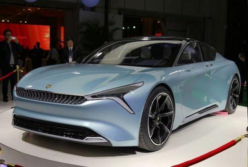 В Китае презентовали новый электрокар LvChi Urano