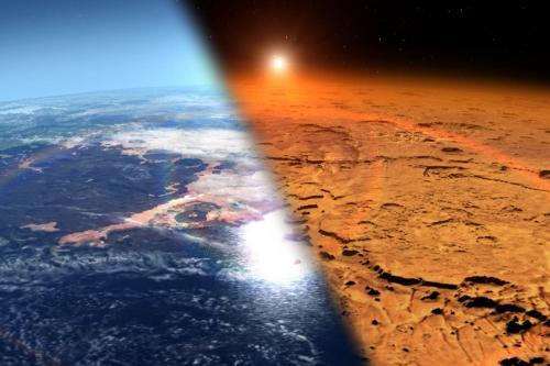 Ученые: Океаны на Марсе возникли раньше на 300 миллионов лет