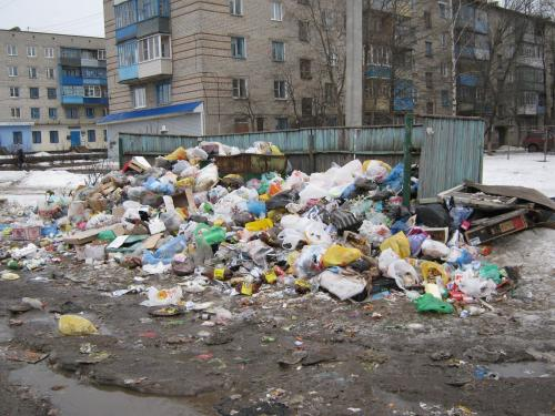 Красноярск тонет в фекалиях