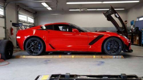 В сети представили наиболее скоростной спорткар Chevrolet Corvette ZR1