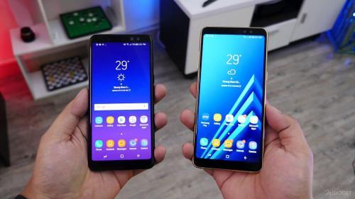 Samsung обрушила цены на Samsung Galaxy A8 и Galaxy A8+