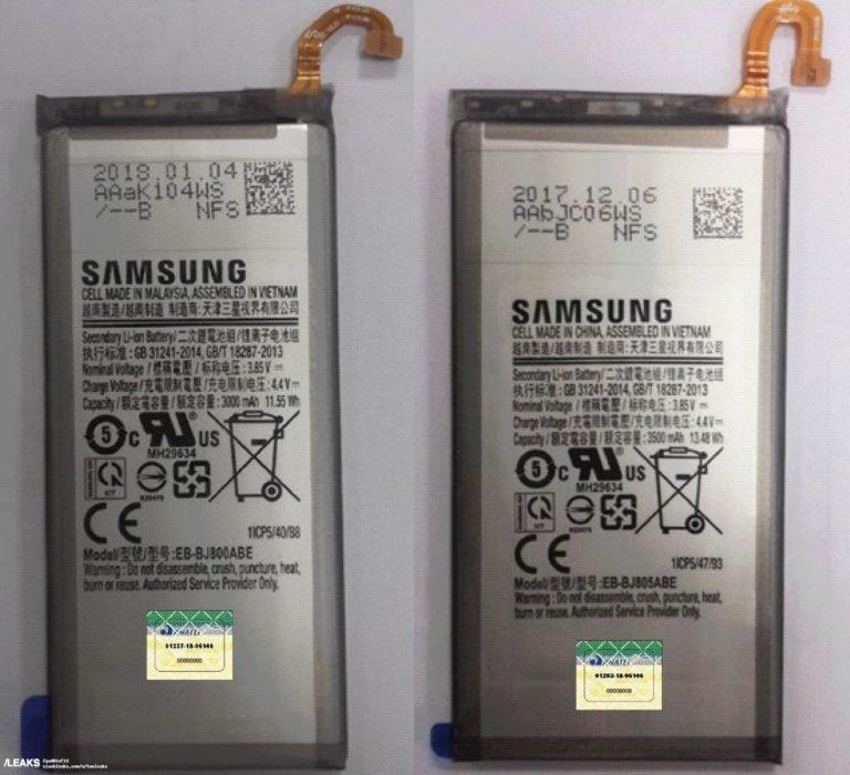 Самсунг увеличит емкость батареи вGalaxy Note 9