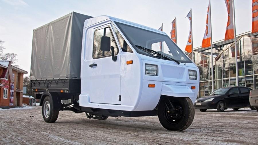 В «ГАЗ» собрали небольшой трицикл «Шмель» свпечатляющей грузоподъёмностью