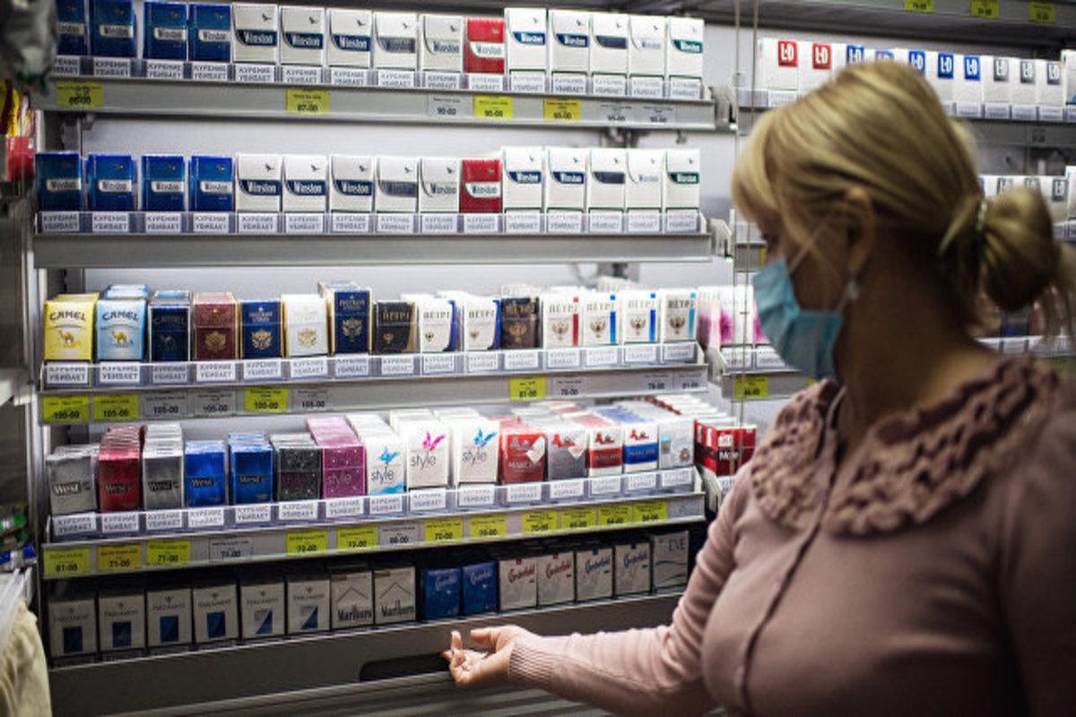 ВПерекрестке продали первые пачки сигарет смаркировкой