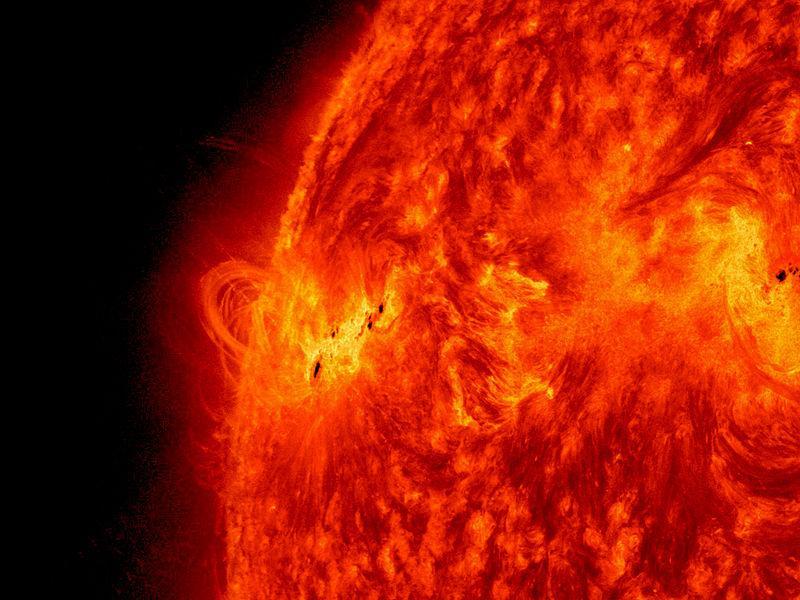 NASA показало увлекательное видео активности Солнца