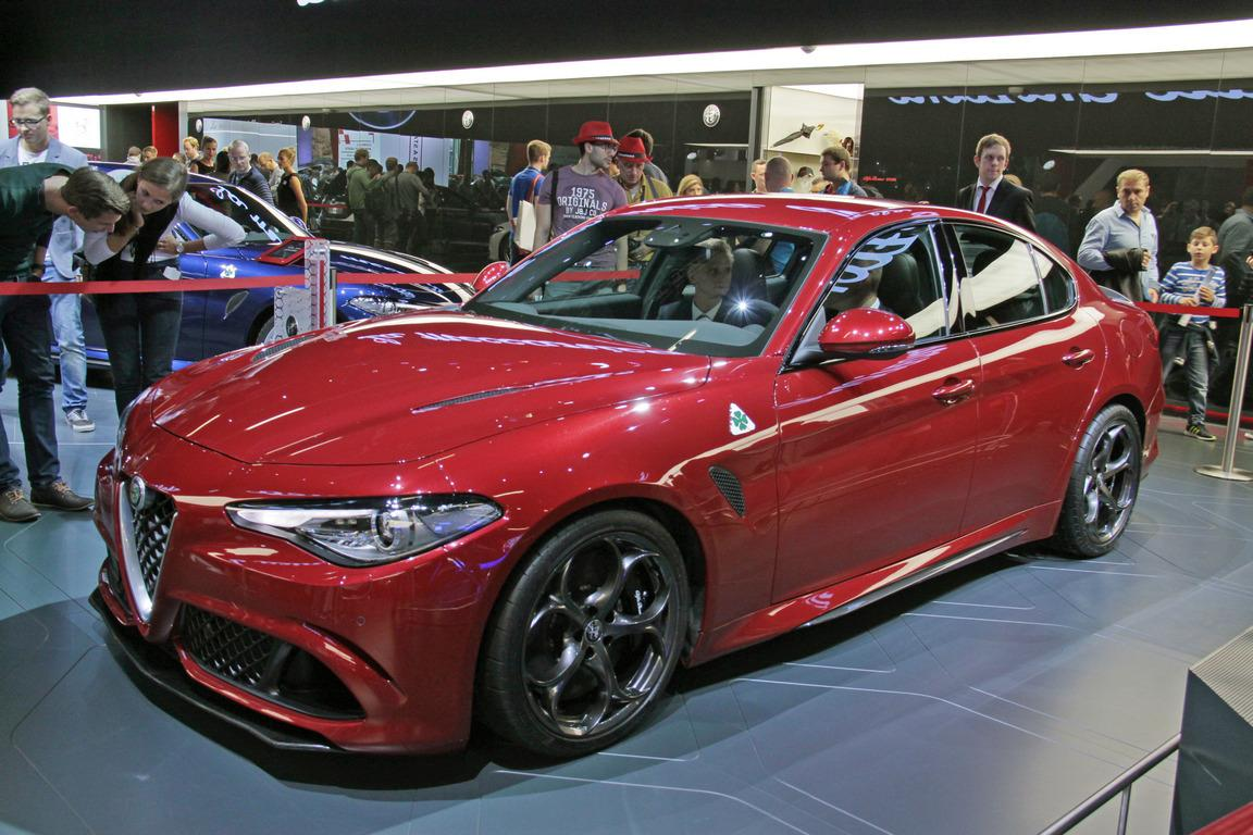 Компания Alfa Romeo готовит квыпуску мощнейший 650-сильный седан class=
