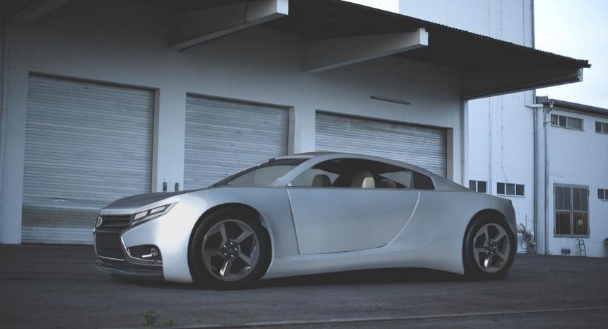 Появились первые рендеры ивидео Лада Vesta Coupe 2025