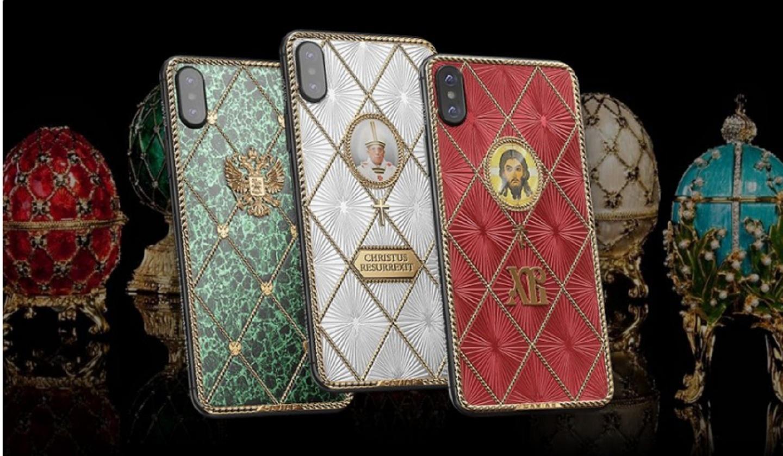 Caviar выпустила серию пасхальных смартфонов iPhone X в стиле Фаберже