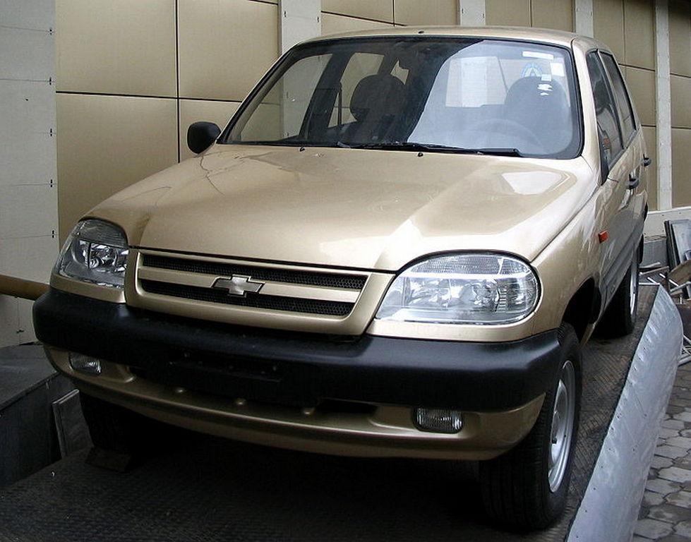 «GM-Автоваз» остановил производство внедорожников Chevrolet Niva
