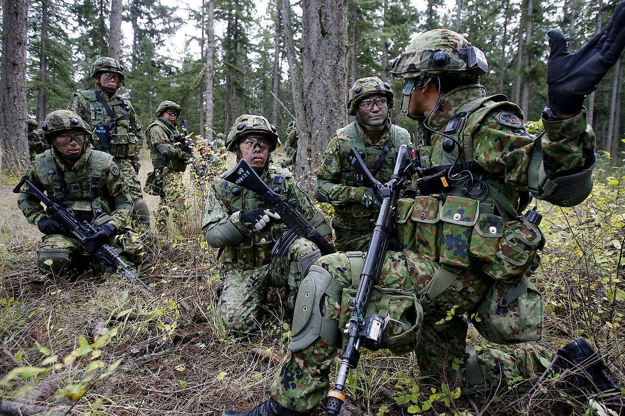 Силы обороны Японии впервый раз современ 2-ой мировой пополнились морской пехотой