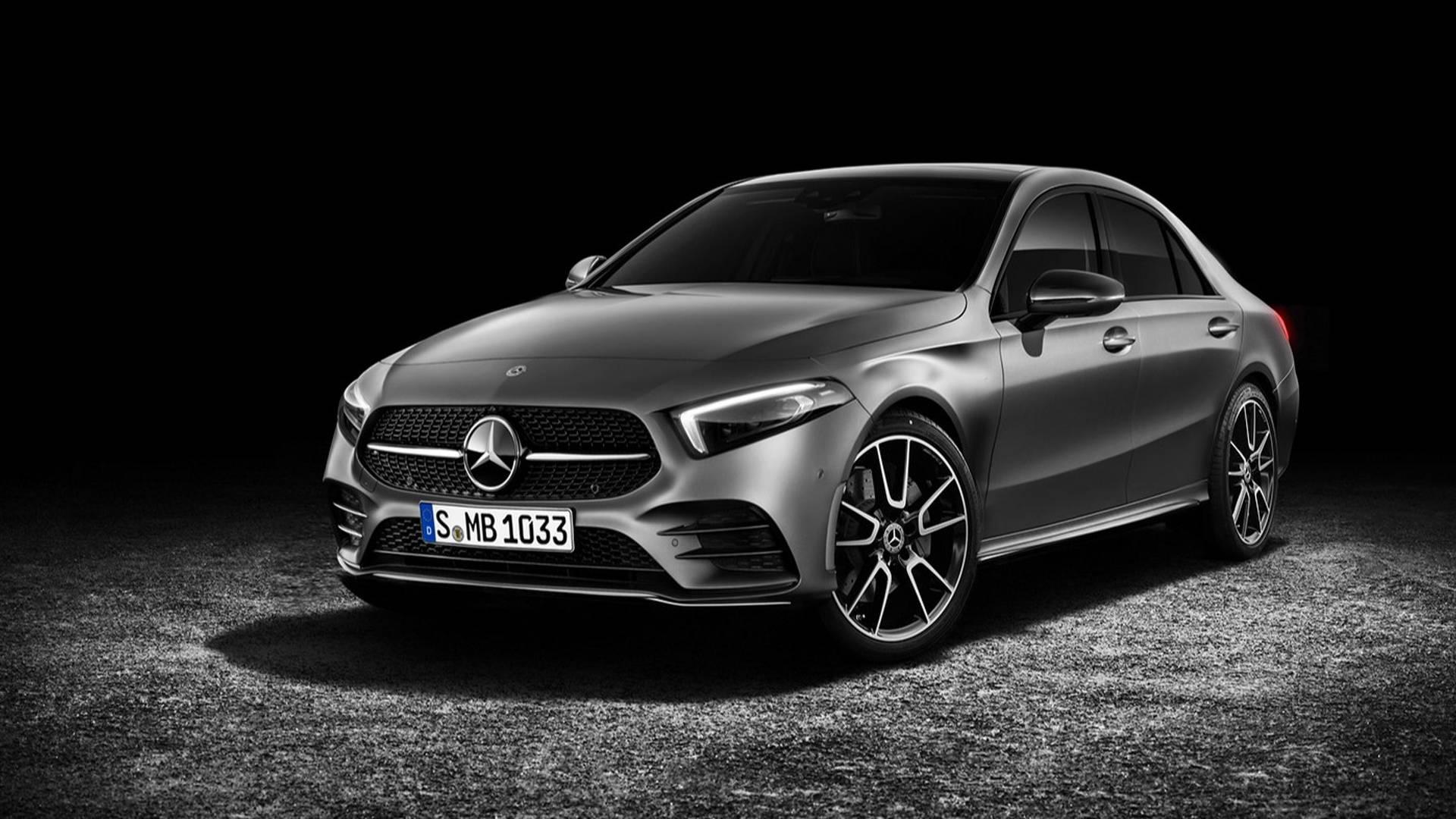 Вконце апреля Mercedes покажет седан A-class