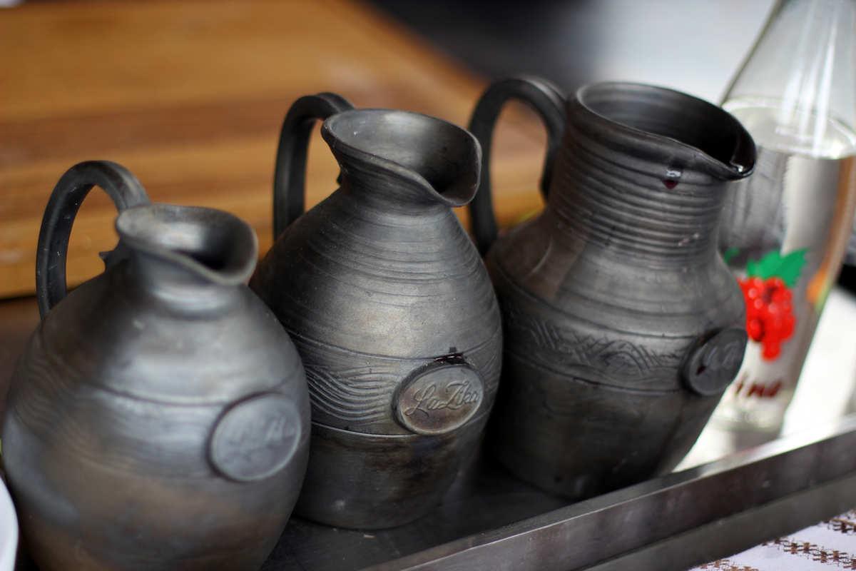 Два средневековых сосуда для вина найдены вАджарии