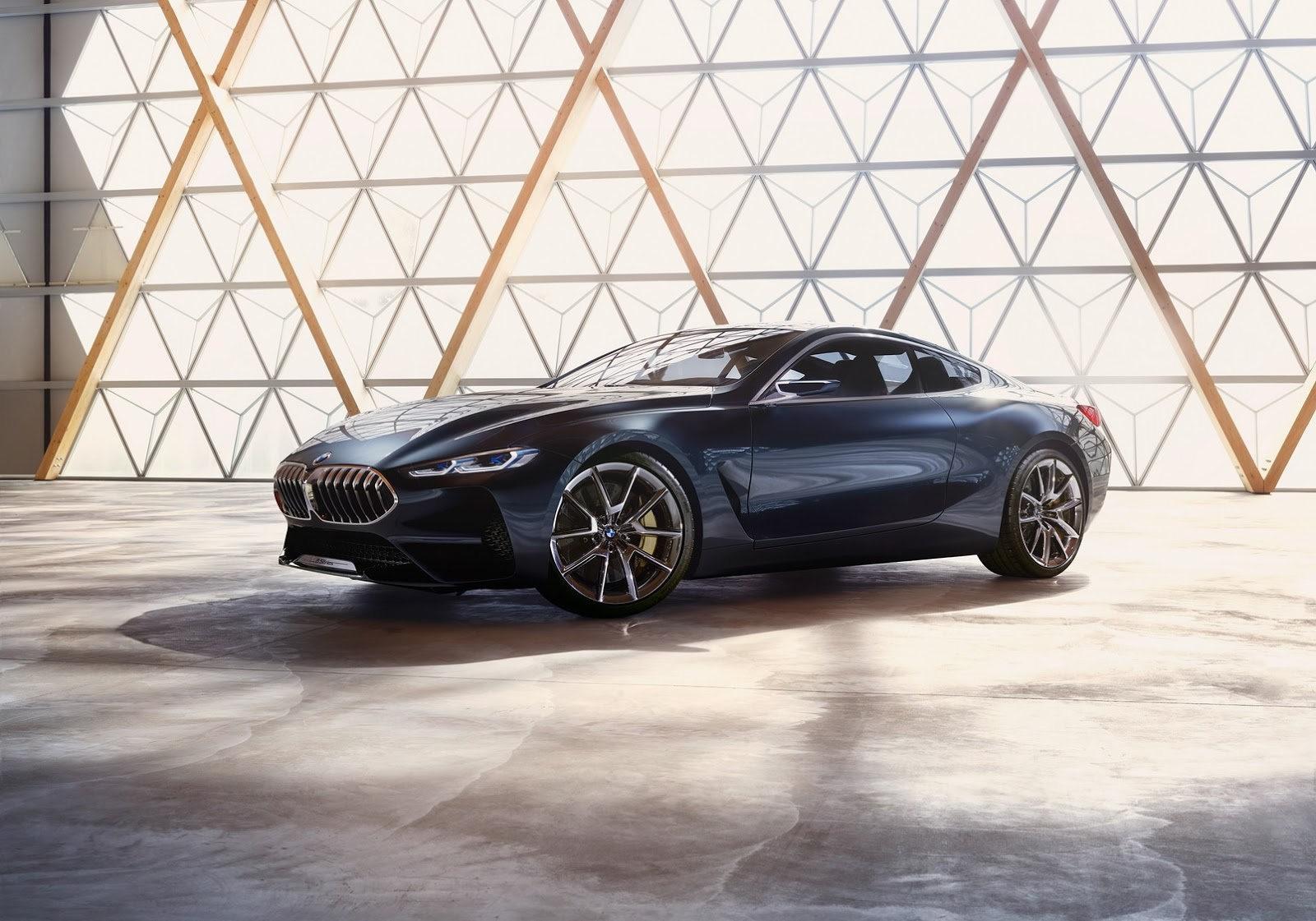 BMW 8-й серии представят в июне